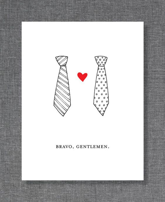 Wedding Invitations, Invitations And Gay Marriage On Pinterest