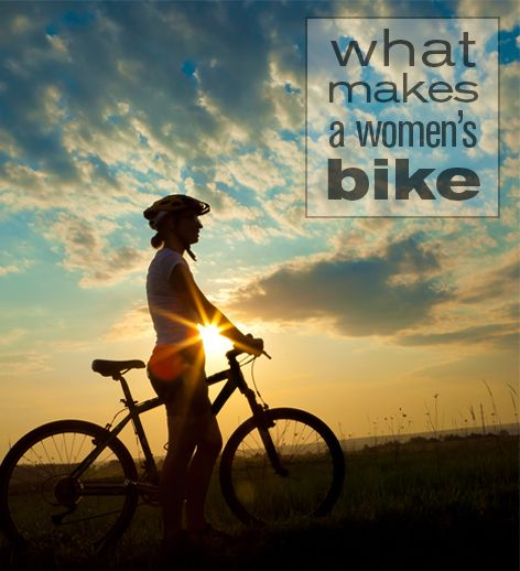Discover the main differences in women's' bikes.