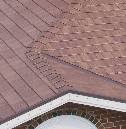 Metal Roof Type Modular Press Formed Panel Pre Painted Residential Metal Roofing Metal Roof Roofing