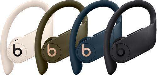 Beats By Dr Dre Powerbeats Pro Totally Wireless Earphones Black Mv6y2ll A Best Buy Wireless Earphones Earbuds Earphone
