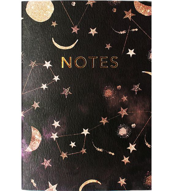 Rose gold notes book: