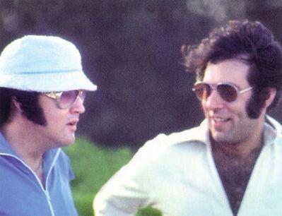 Elvis and Larry Geller