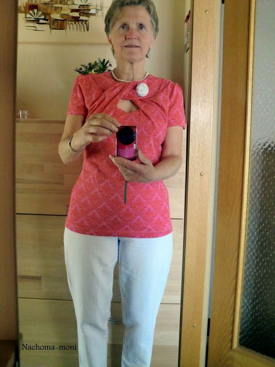 Nähoma moni: Shirt meine Nähmode Model 54-56