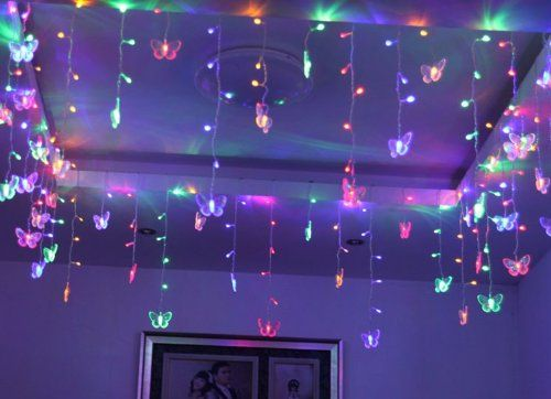 Light bedroom, Led string lights and String lights on Pinterest