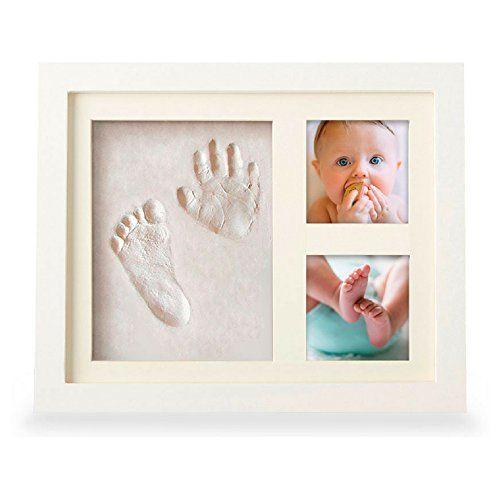 Beautiful Baby Handprint Kit Footprint Photo Frame For Newborn Girls And Boys Un