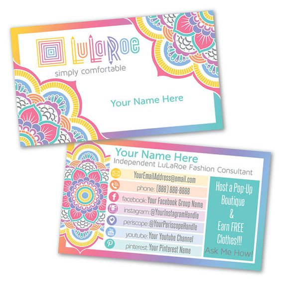 Https imagessearchyahoocom yhs searchplularoe for Lularoe business card template
