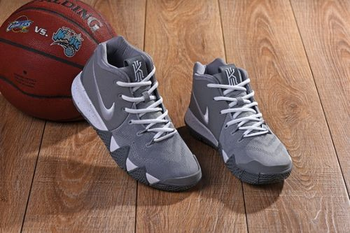 New Arrival Nike Kyrie 4 Wolf Grey