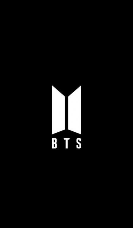 Bts Logo Black And White : black, white, Paper, Black, Ideas, Wallpaper, Ponsel,, Kertas, Dinding,, Gambar