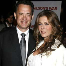 Tom Hanks & Rita Wilson-24 yrs