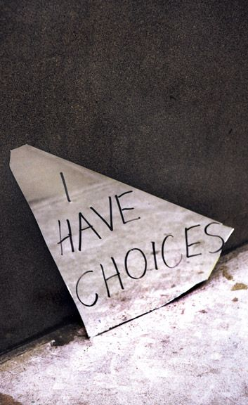 """""""I have choices"""" by Ralph Gibson from 'Gotham Chronicles'"""
