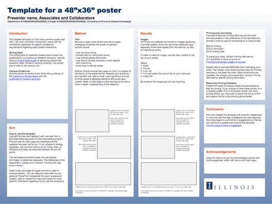 conference poster template | natural science genres | pinterest, Modern powerpoint
