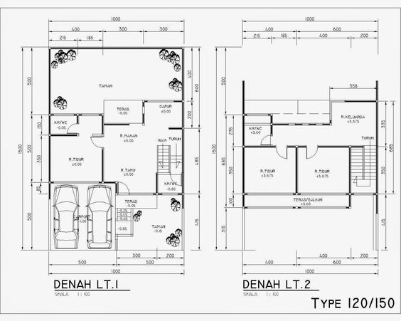 120 150 Sqm Floor Plan Design Small House Design House Layouts House floor plan unit of measurement