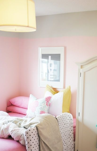 Pawleys Island Posh: Pink Walls: On letting little girls pick