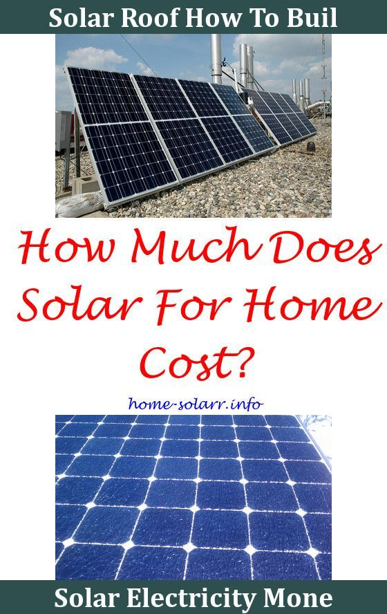 Solar Home Improvements And Tax Deductions Panels