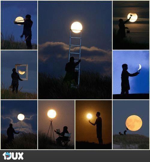 Mondspielereien