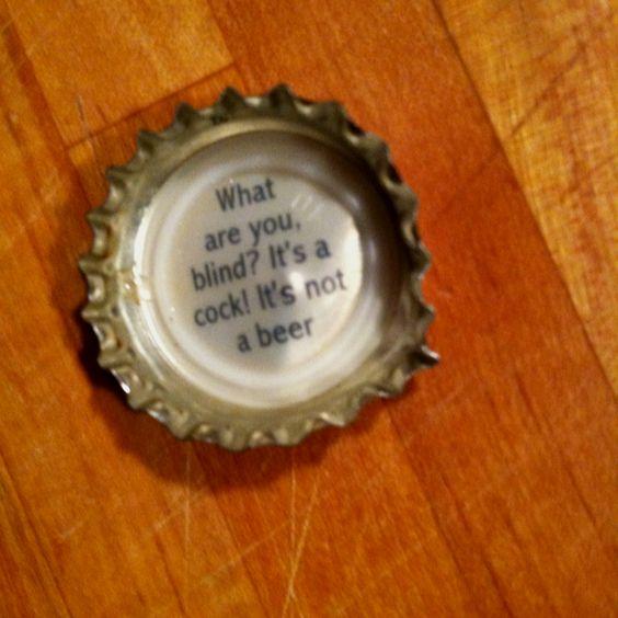 Newport Storm bottle cap.