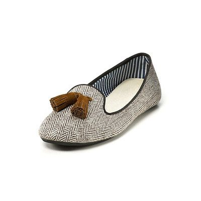 Charles Philip Tweed Tassel Loafers