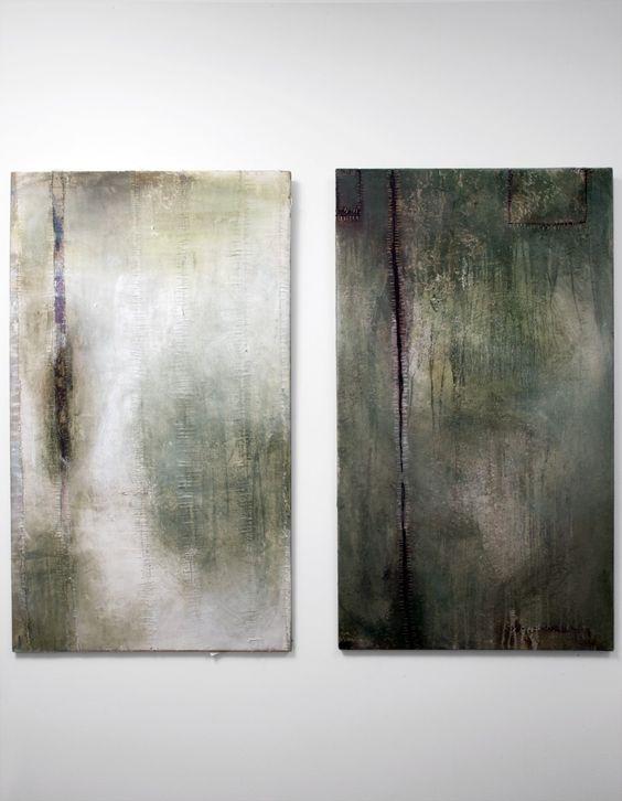 101 Hotel Reykjavik - Art Gallery - Mixed media on wood - Bodvar Gunnarsson 2002-2003