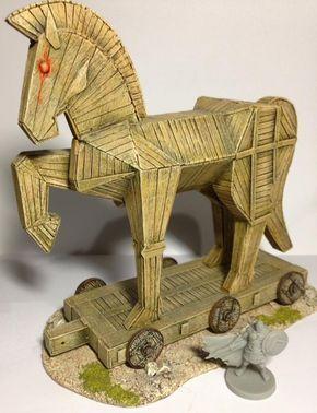 Trojan Horse By Alfredo Podesta I Like The Shape Angles Used In