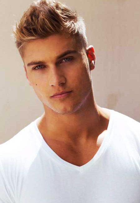 Phenomenal Cool Blonde Men39S Hairstyle And Thin Hair On Pinterest Hairstyles For Women Draintrainus