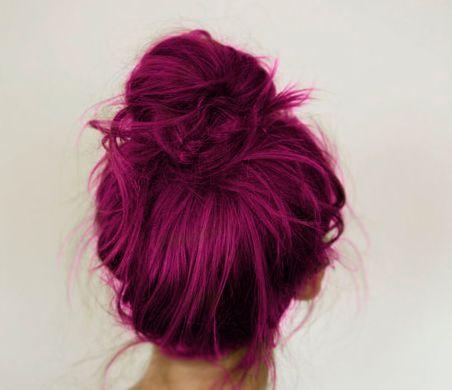 Violet pink color. <3