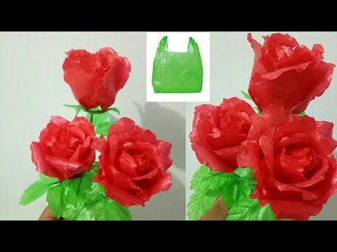 102 Cara Membuat Bunga Mawar Dari Plastik Kresek Roses Flower From Polythene Bag Youtube Mawar Tutorial Bunga Kertas Bunga