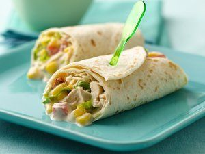 Quick and easy wrap ideas. Great for college meals