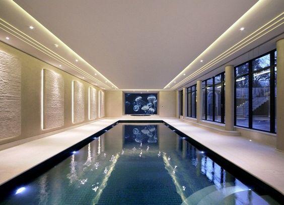 Bas piscine couverte construire des idées de conception conservatoires