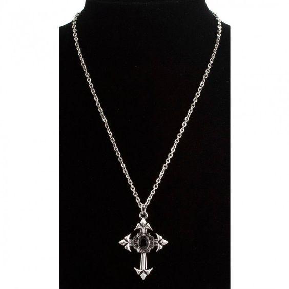 Gotische Kreuz Kette Juwel Kreuzkette_2.jpg (910×910)