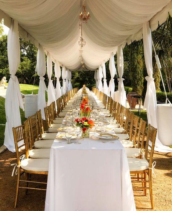 Wedding Seating Arrangement Ideas: Receptions, Wedding Reception Seating And Gold Chairs On