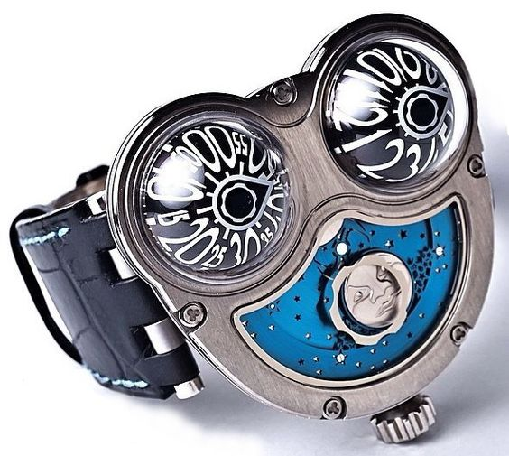 MB&F MoonMachine Titanium