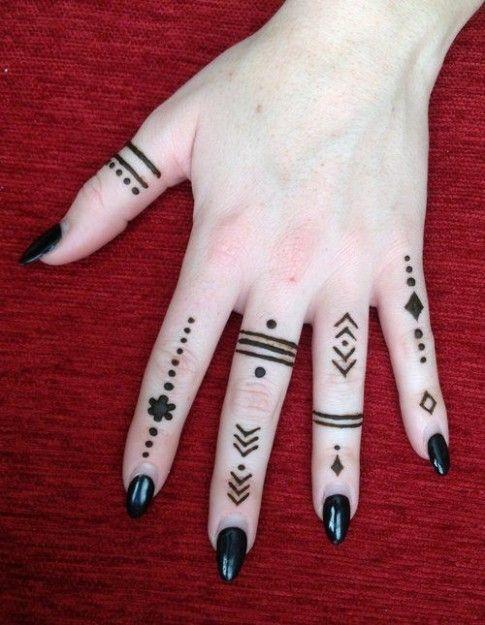 Tatuajes En La Mano Faciles