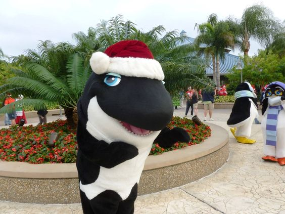 "SeaWorld Orlando provides ""Holiday Splash"" to hundreds of Children in Central Florida"