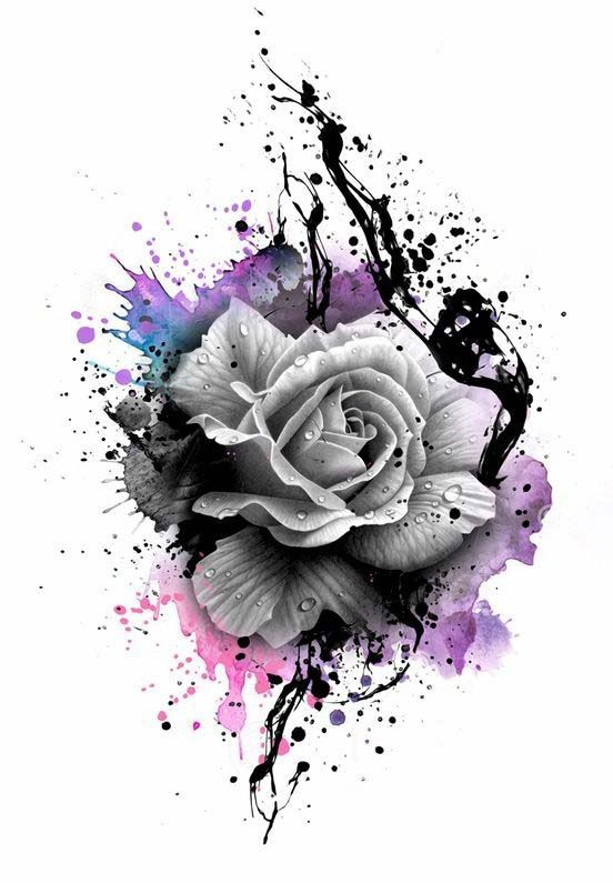 60 Very Provocative Rose Tattoos Designs And Ideas Watercolor Rose Tattoos Rose Tattoo Design Traditional Rose Tattoos