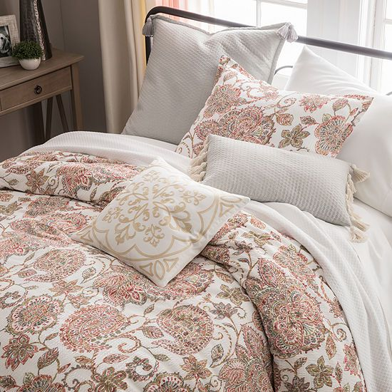 Jcpenney Home Amelia 4 Pc Floral Comforter Set Jcpenney With