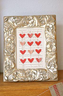 Super Cute Valentine Craft from Little Birdie Secrets!