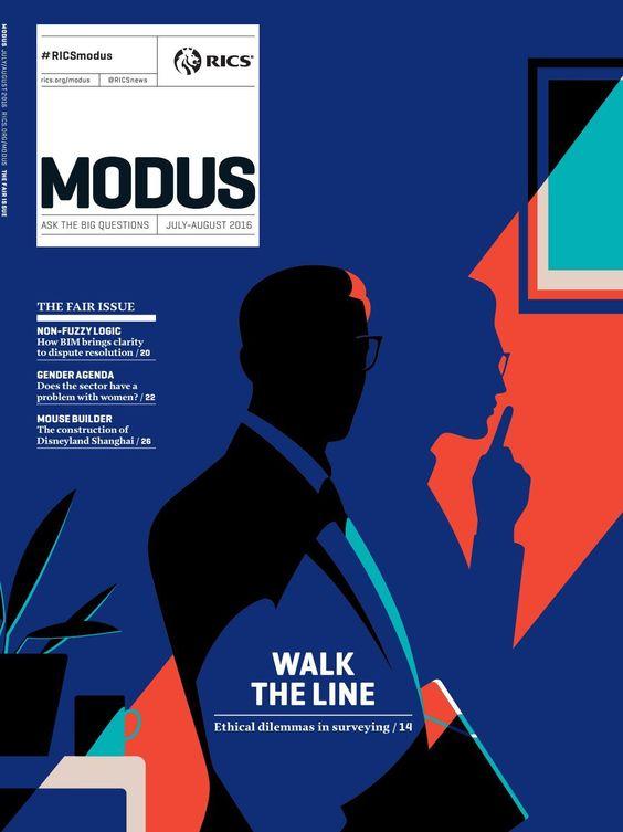 #ClippedOnIssuu from RICS Modus, Global edition — July 2016 . Illustration . Magazine Cover . Awesome Palette . Illustrationart .