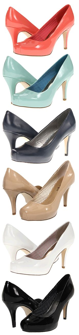 Madden Girl Getta - a must have!! Extremely versatile, can be worn to work to the office and on a night out. 3 1/2 inch heel plus a hidden 1 inch platform, makes walking a breeze!! A must buy if you love heels!! -Kendey
