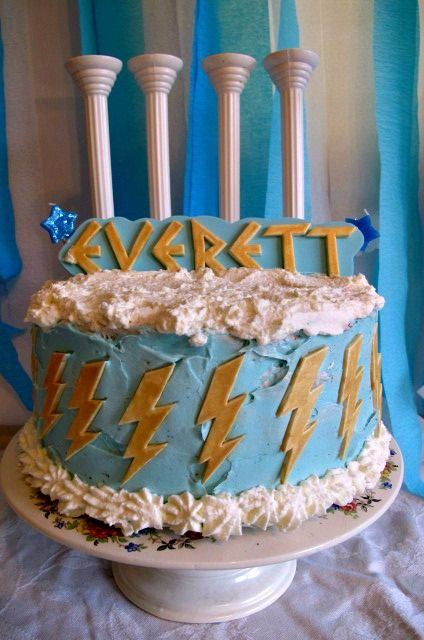 Greek Mythology Inspired Cake Birthday Party Pinterest