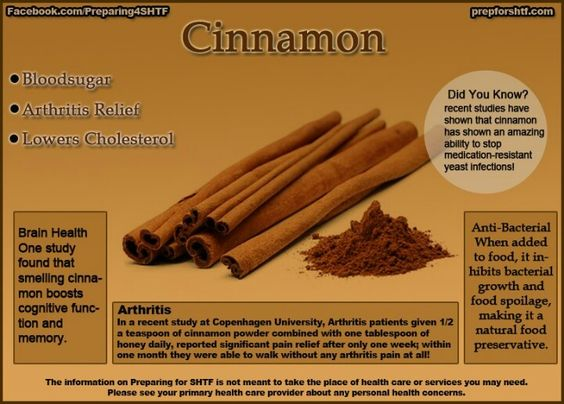 Uses for cinnamon