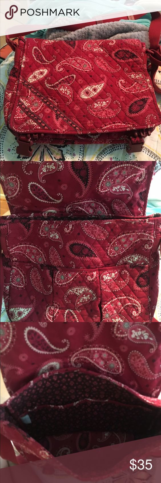 Vera Bradley satchel Like new ! Great for laptops Vera Bradley Accessories Laptop Cases