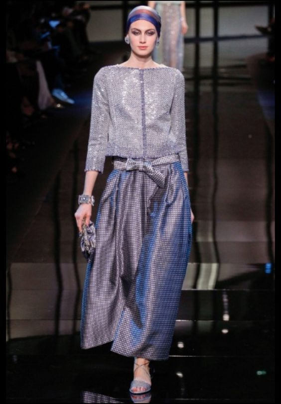 Giorgio Armani Privé Paris Haute Couture  S/S 14