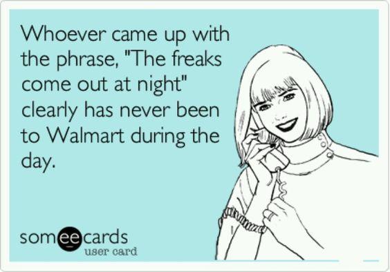 Freaks Wal-Mart