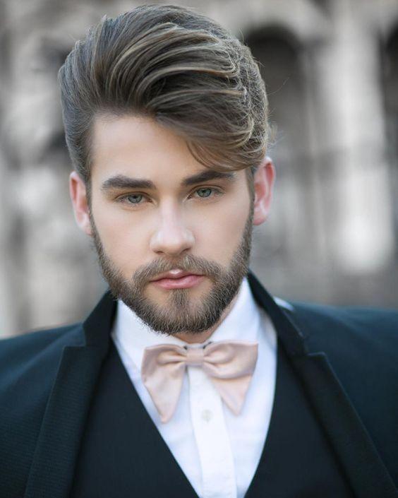 25 Stylish And Trendy Groom Hairstyles Groom Hairstyles Beard Styles Beard Styles Short Mens Hairstyles Short