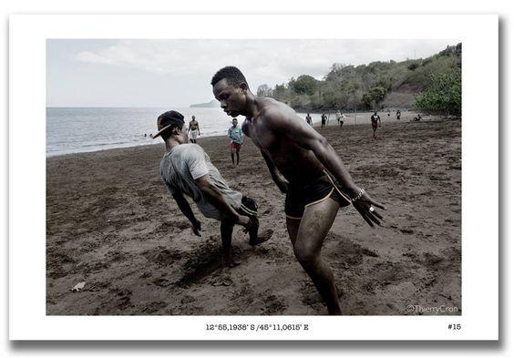 Quand les plages se transforment en terrain sportif