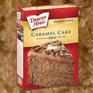 caramel cake mix special duncan hines and caramel on 2450