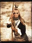 Native American photo shoot.