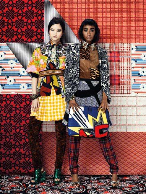 Exuberantly Printed Mash-Ups - The 'Get Busy, Get Dizzy' Editorial for Paper Mag is Elaborate (GALLERY)
