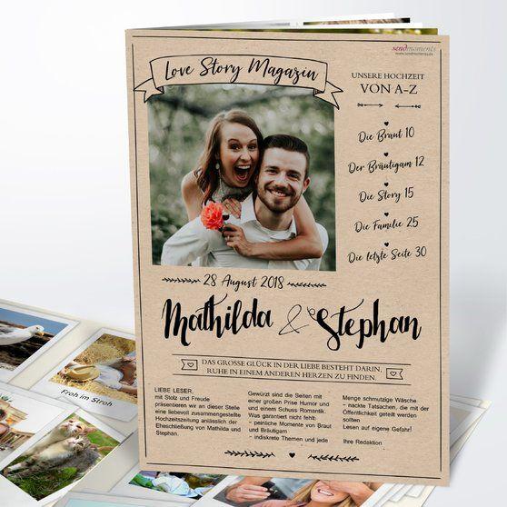 Hochzeit deckblatt hochzeitszeitung goldene Hochzeitszeitung Goldene