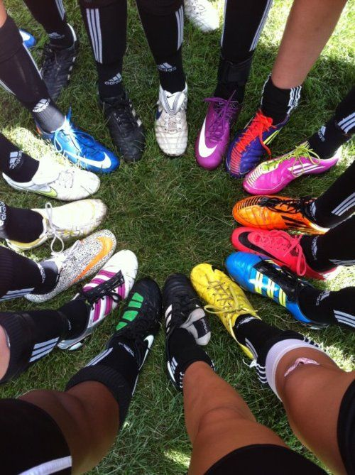 :) soon..plus my cleats are in this picture...the purple with lime green in the upper right corner..at least i think those are it